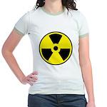Danger Radioactive Jr. Ringer T-Shirt