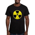 Danger Radioactive Men's Fitted T-Shirt (dark)