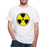 Danger Radioactive White T-Shirt