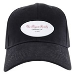 Personalizable Family Black Red Baseball Hat