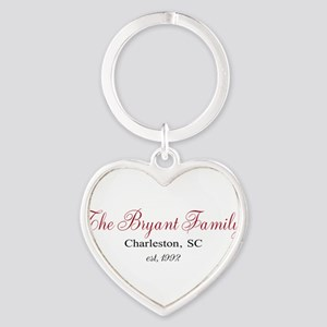 Personalizable Family Black Red Keychains