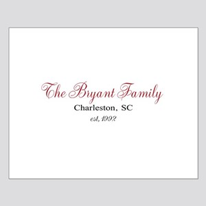 Personalizable Family Black Red Posters