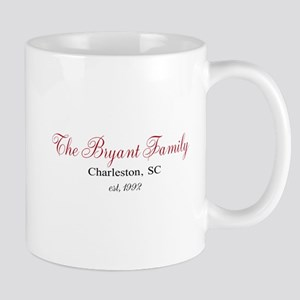 Personalizable Family Black Red Mugs