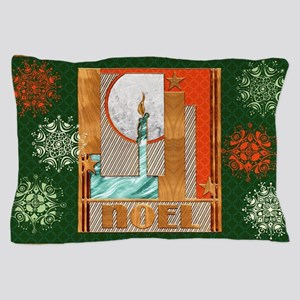 Harvest Moons Mod Candle Pillow Case