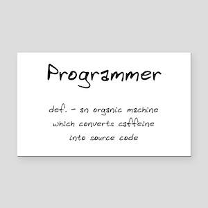 Programmer Definition Rectangle Car Magnet