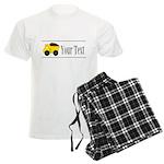 Personalizable Dump Truck Pajamas