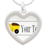 Personalizable Dump Truck Necklaces