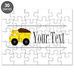 Personalizable Dump Truck Puzzle