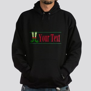 Personalizable Elf Feet Sweatshirt