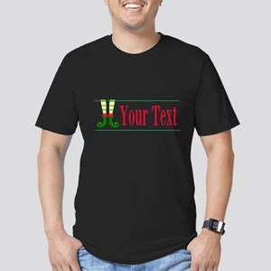 Personalizable Elf Feet T-Shirt