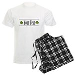 Personalizable Green Shamrock Pajamas