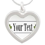 Personalizable Green Shamrock Necklaces