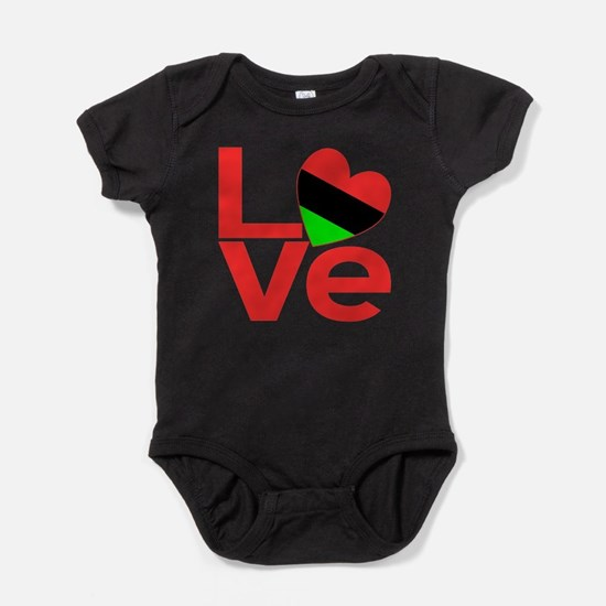 African American Love Body Suit