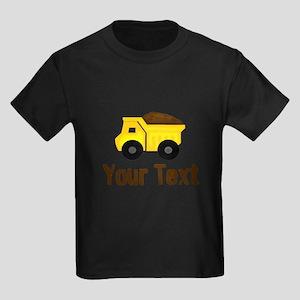 Personalizable Dump Truck Brown T-Shirt