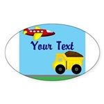 Trucks and Planes Sticker