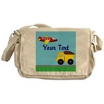 Trucks and Planes Messenger Bag