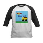 Trucks and Planes Baseball Jersey