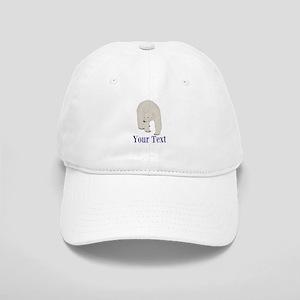 Personalizable Polar Bear Baseball Cap