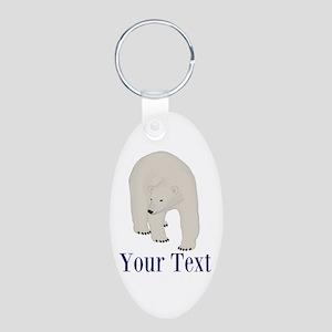 Personalizable Polar Bear Keychains