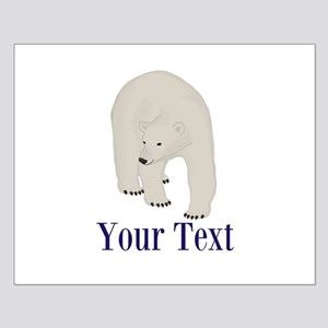 Personalizable Polar Bear Posters
