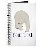 Personalizable Polar Bear Journal
