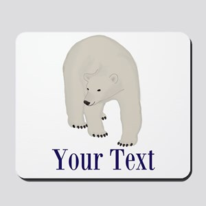Personalizable Polar Bear Mousepad