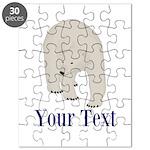 Personalizable Polar Bear Puzzle