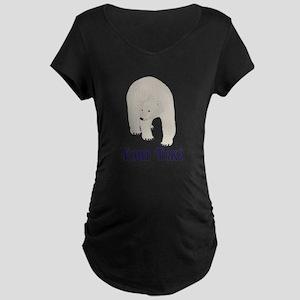 Personalizable Polar Bear Maternity T-Shirt