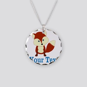 Personalizable Red Fox Necklace