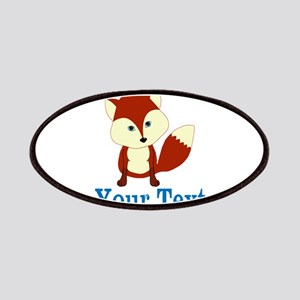Personalizable Red Fox Patch