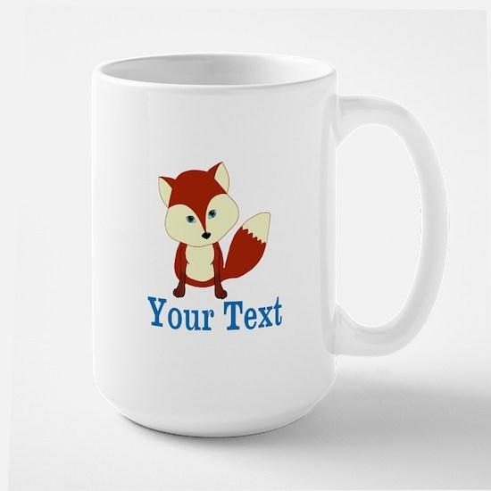 Personalizable Red Fox Mugs