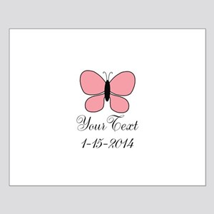 Pink Butterfly Personalizable Posters
