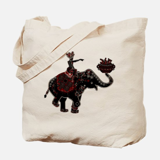 Metallic Trader on Elephant Back Tote Bag
