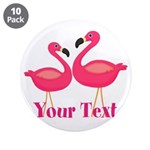 Personalizable Pink Flamingoes 3.5