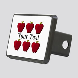 Personalizable Red Apples Hitch Cover