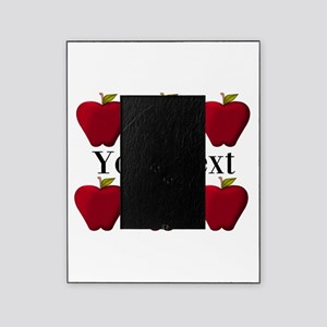 Personalizable Red Apples Picture Frame