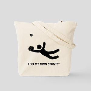 Funny Soccer Stunts Tote Bag