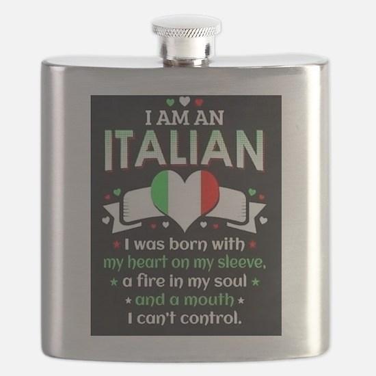 I am Italian Flask