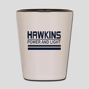 Hawkins Power and Light Shot Glass