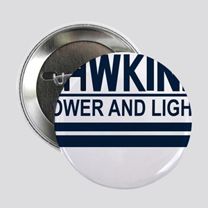 """Hawkins Power and Light 2.25"""" Button"""