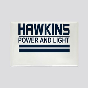 Hawkins Power and Light Rectangle Magnet