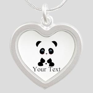 Personalizable Panda Bear Necklaces