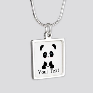 Personalizable Panda Bear Necklaces