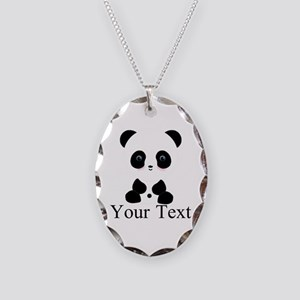 Personalizable Panda Bear Necklace