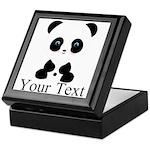 Personalizable Panda Bear Keepsake Box