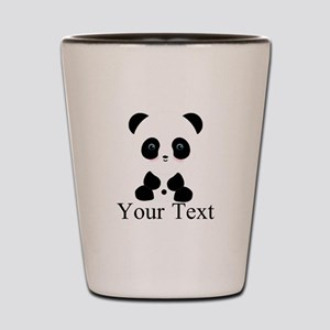 Personalizable Panda Bear Shot Glass