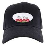 Personalizable Red Tulips Baseball Hat