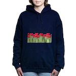Personalizable Red Tulips Sweatshirt