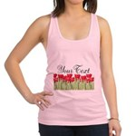 Personalizable Red Tulips Tank Top