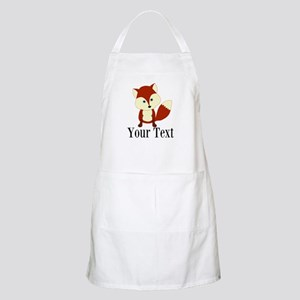 Personalizable Red Fox Apron